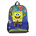 2015 SpongeBob Squarepants bag for School Boys Children SpongeBob Squarepants book backpacks for Kids with Sponge Bob Cartoon
