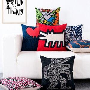 Keith Haring Graffiti Printed