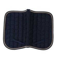 Прыжки события амортизирующие английские подушки конского седла 69x50cm