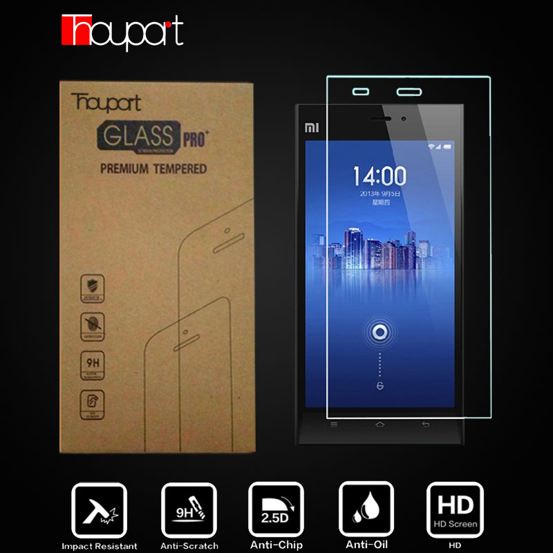 2pcs For Xiaomi Mi 3 Glass Film Explosion-proof Tempered Glass For Xiao