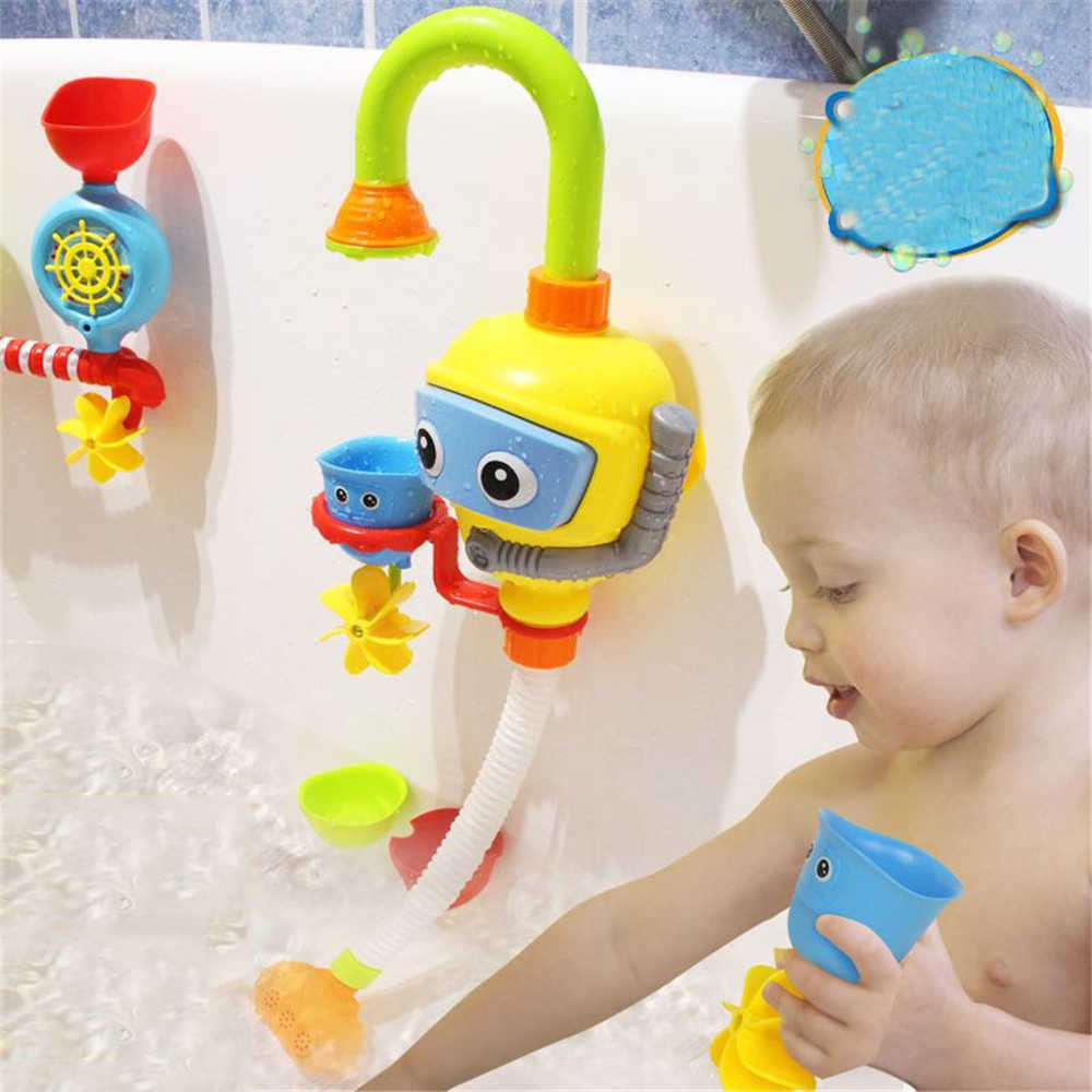 Bath Toy Water Spraying Tool Baby Bath Toys Bathtub Accessories Shower Spray Water Play Game for Bath Bathroom Toys for children