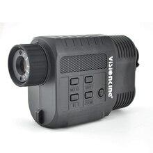 Visionking цифровой Монокуляр ночного видения 850NM ИК светодиодный ночной охотничий Camorder 3,5-9x21 Zoom мини прибор ночного видения