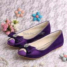 (20 Цвета) На Заказ Dropship Black Satin Женщины Свадебная Обувь Балетки С Кристалл