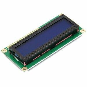 Image 2 - LCD1602 1602 מודול 5 V lcd 1602 כחול מסך תצוגת LCD אופי מודול כחול Blacklight חדש לבן קוד