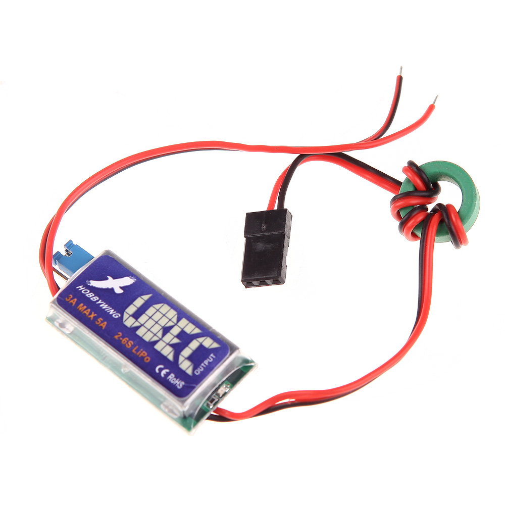 Hobbywing 3A Switch Mode UBEC 5V 6V max 5A Lowest RF Noise(China)