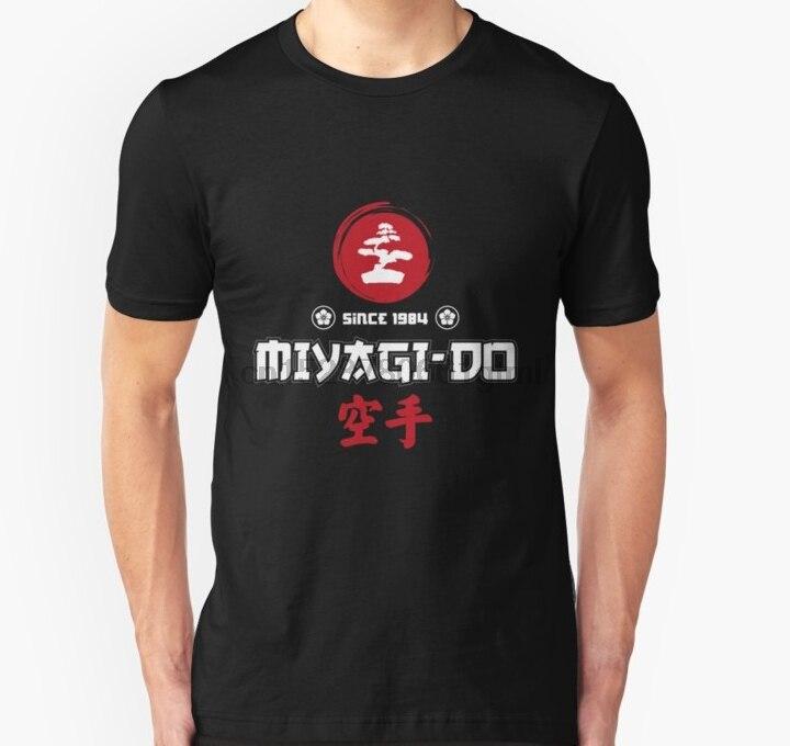 Homens de manga Curta camiseta karate kid miyagi Unisex T Shirt t-shirt Das Mulheres