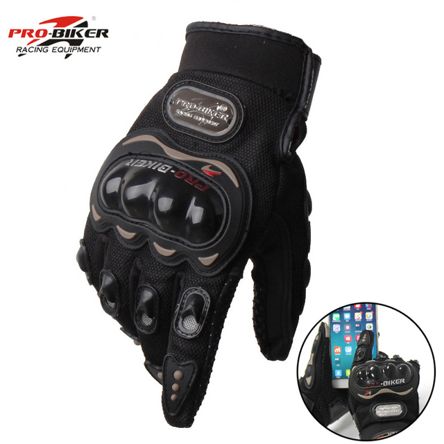 Gants de moto Pour l'hiver et été Insert tactile sur l'index, permettant la manipulation gantée de votre smartphone ou GPS 4