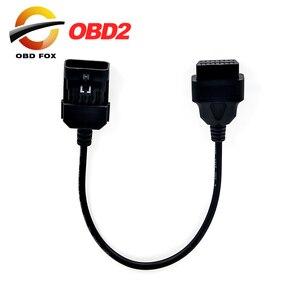 Image 1 - עבור אופל 10Pin כדי 16Pin OBD2 רכב הארכת אבחון כלי מחבר כבל עבור אופל 10 פין OBD/OBD2 סריקה כלי כבל