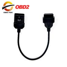 for Opel 10Pin To 16Pin OBD2 Car Extension Diagnostic tool connector Cable for Opel 10 PIN OBD/OBD2 Scan Tool Cable