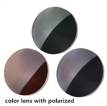 1.61 1.67 índice polarizado lentes de prescrição personalizado miopia óculos de sol lente óptica óculos de visão curta noite condução lentes