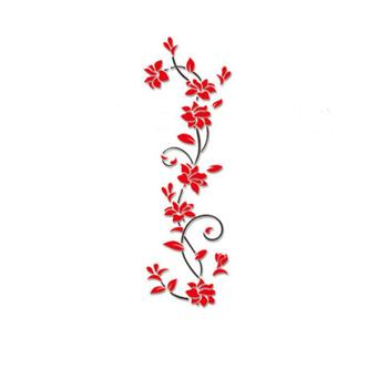 3D flower Wall Stickers for kids rooms decals Living Room Bedroom TV Background Home decor 10