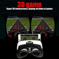 Mini Virtual Reality Headset 3D Glasses Adjustable Focus Range Mobile Phone Glasses Fashion Design For 3D