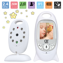 VB601 2 Inch Video Baby Monitor Wireless IP Camera Infrared Night Vision Two Way Talk Support Temperature Monitoring English