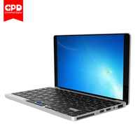 Original GPD Pocket 7 Mini Laptop Aluminum Shell Ubuntu Windows 10 Home CPU X7 Z8750 8GB