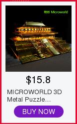 Металлическая 3d головоломка «Собранный своими руками» Собранный
