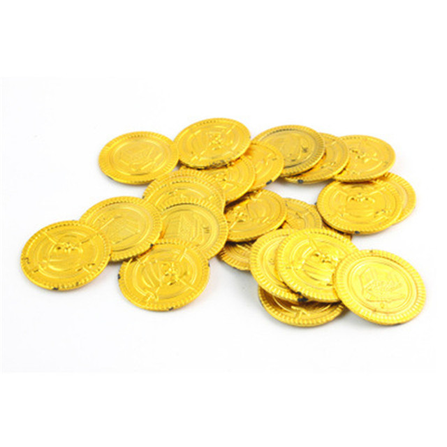 Pirate Treasure Coins (50 Pieces)