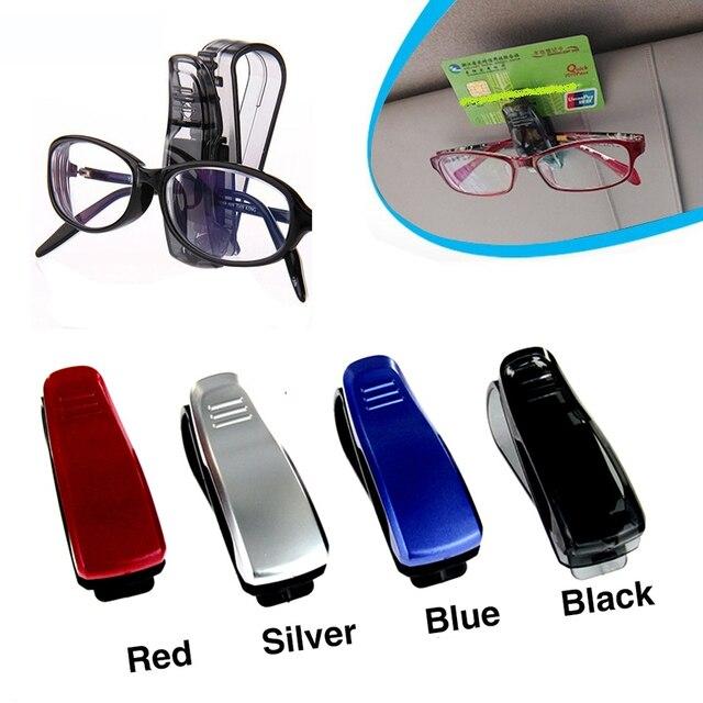 GLCC Car Fastener Glasses Clip Eyeglasses Case Sunglasses Holder Auto Frame Holder Car Hanger Clips Accessories Car-Styling