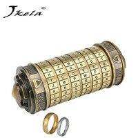 Jkela Educational Toys Metal Cryptex Locks Gift Ideas Da Vinci Code Lock To Marry Lover