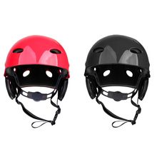 2 Pieces Safety Helmet Hard Hat Kayak Canoe Surf Paddleboard Water Sport for Rowing Boat