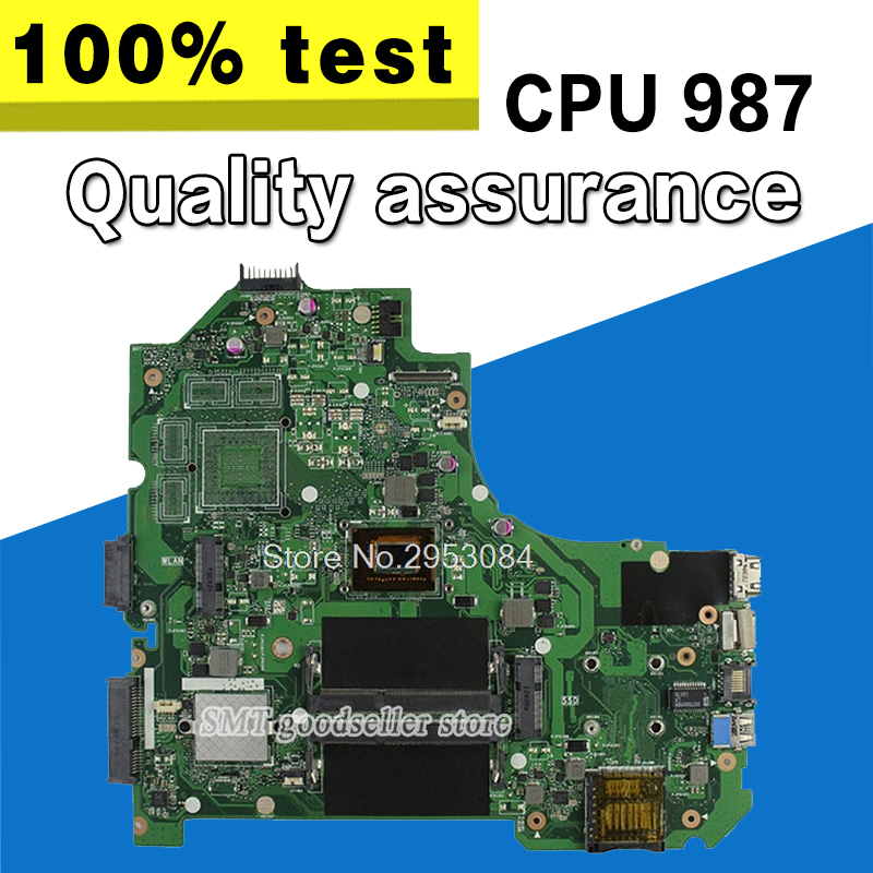 For ASUS K56C K56CM K56CB S56C A56C S550CB S550C S550CA K56CA REV2.0 Mainboard 987 Processor Intergated 100% Tested S-4 for asus k56c k56cm k56cb s56c a56c s550cb s550c s550ca k56ca laptop motherboard with i3 cpu integrated graphics gm fully tested