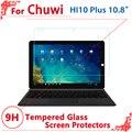 """Alta Qualidade de vidro Temperado protetor de tela Para CHUWI Hi10 plus 10.8 """"filme protetor de tela, Frete grátis"""