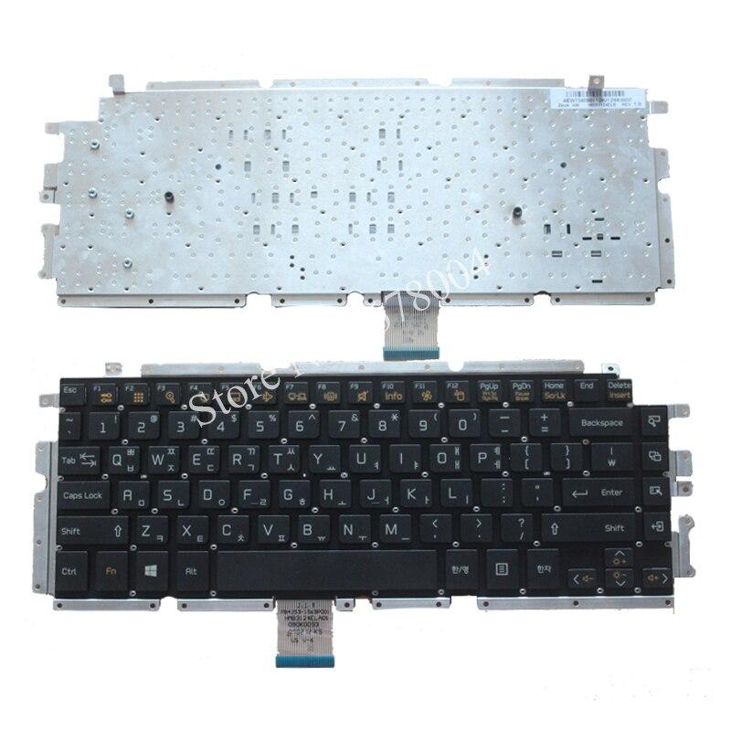 New Korean Laptop Keyboard for LG Z330 Z350 Z355 black KR keyboard new portuguese laptop keyboard for lg z330 z350 z355 black portugal po keyboard