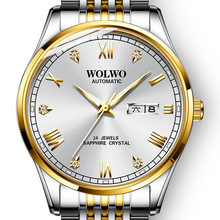 Men's watch 100m waterproof diving automatic mechanical watch steel wristwatch luxury business classic watch Relogio Masculin все цены
