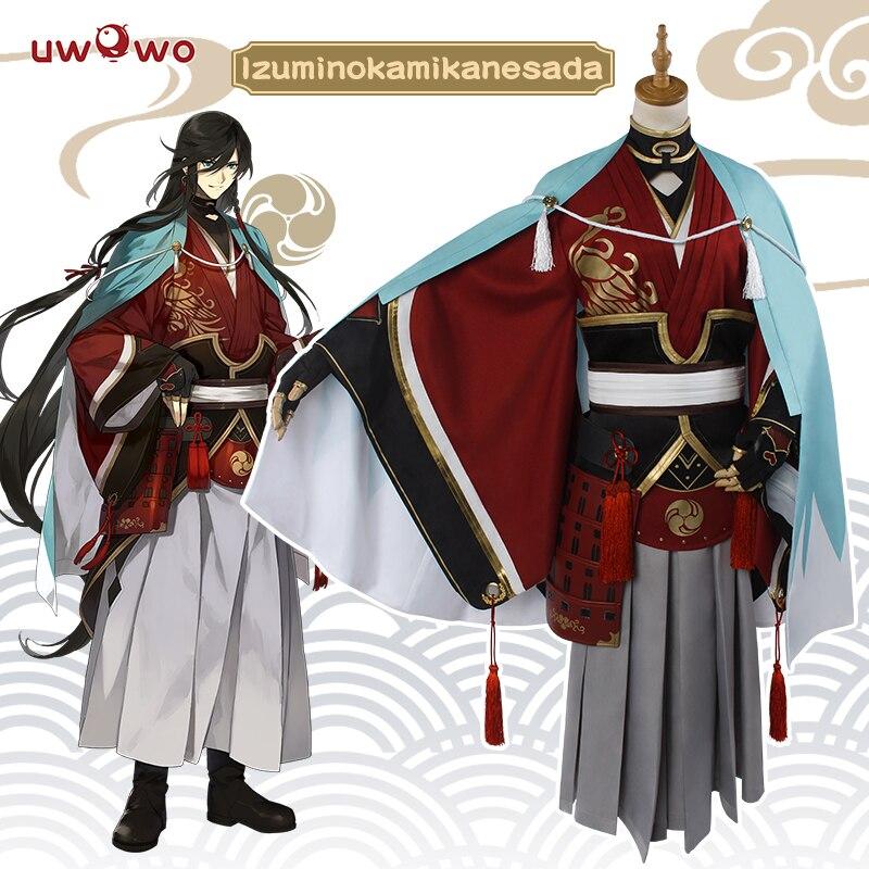 UWOWO Izuminokami Kanesada Cosplay Touken Ranbu On-Line Degli Uomini Anime Costume Touken Ranbu Cosplay Izuminokami Kanesada