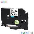 Labelife 1pcs 12mm TZ TZe Tape TZ231 TZe231 TZe-231 Compatible Brother PTouch Black on White for PT-D210 PT-H100 Label Printer