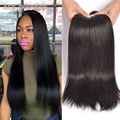 "ACEHair 8A Peruvian Virgin Hair Straight 3pcs,Peruvian Straight Virgin Hair 8-30"" Peruvian Hair Extensions Weave Bundles"