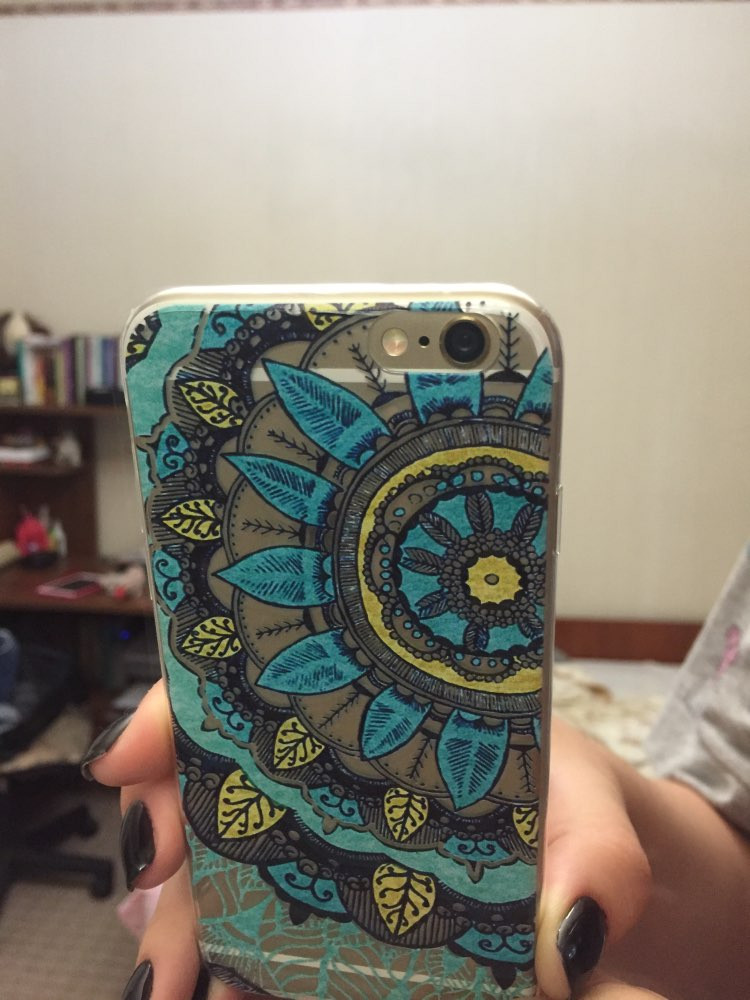 Floral-Paisley-Phone-Case-For-iPhone-5-5S-SE-6-6S-6Plus-6Splus-Soft-Silicon-transparent1