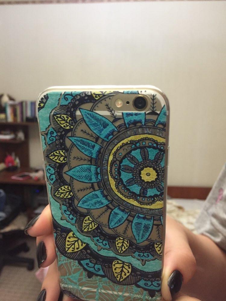 Floral-Paisley-Phone-Case-For-iPhone-5-5S-SE-6-6S-6Plus-6Splus-Soft-Silicon-transparent1