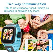 DS61 Childrens Smart Watch Sim Card Color Touch GPS+WiFi+LBS Positioning Waterproof For Kids Boys Girls Gift