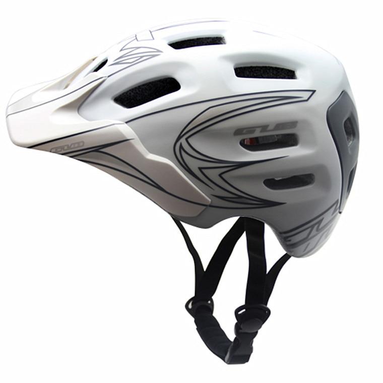GUB XX7 XC AM helmet Quality Ultralight 18 Vents Sports Cycling Helmet with Visor Mountain Road MTB Bike Bicycle Helmets цена