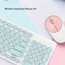 FD IK6630 Ultra Slim 2.4G Wireless Keyboard Mouse Set Gaming Keyboard Mouse Combo kit for Desktop Laptop Computer Silent Click