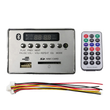 MP3 Bluetooth Decoder Module Board with Remote Controller WMA WAV FM Radio AUX 5V/12V WIF66