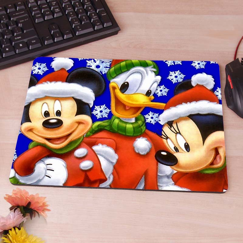 Mickey Mouse Mouse Pad Rubber Non-Skid Mouse Pad