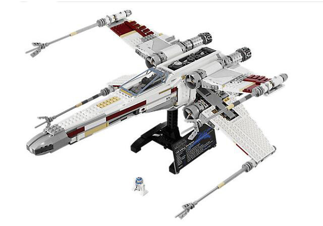 LEPIN 05039 Genuine Star War Series The X-wing Red Five Mobile Building Block 1586Pcs Bricks Compatible With Lepind 10240 rollercoasters the war of the worlds