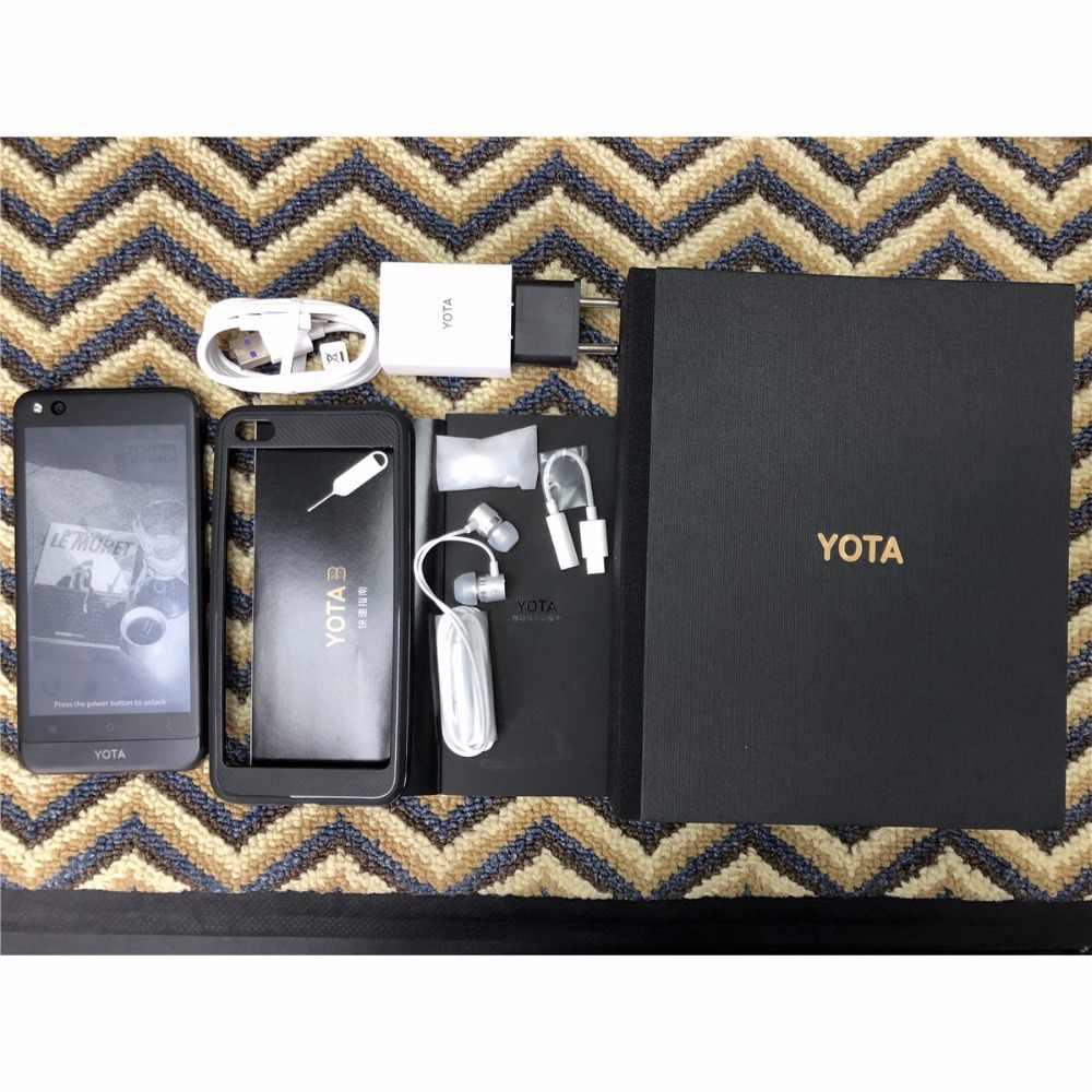 """ヨタ 3 Yota3 yotaphone 3 オクタコア 4 グラム + 64 グラム OS7.1 デュアルスクリーン 5.5 """"fhd 画面 5.2"""" タッチ snapdragon スマート携帯電話のプレイストア"""