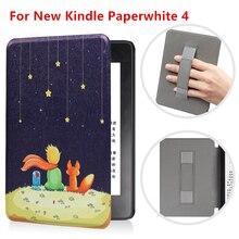 Умный чехол для Amazon Kindle Paperwhite 4 Магнитный флип-чехол для планшета Paperwhite 2018 для E-reader