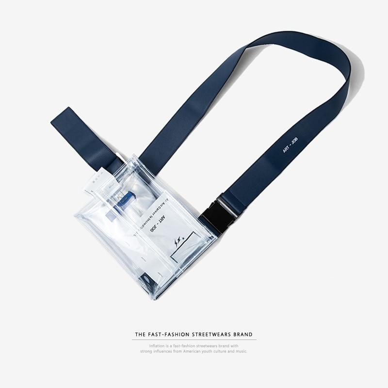 1067.85руб. 50% СКИДКА|Надувная Прозрачная ПВХ прозрачная поясная сумка высокого качества для учебы поясная сумка из ПВХ Дорожная сумка для телефона 152AI2017-in Поясные сумки from Багаж и сумки on AliExpress - 11.11_Double 11_Singles
