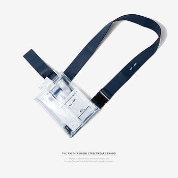 INFLAÇÃO de PVC Claro e Transparente PVC Saco Da Cintura Bloco de Fanny Resistente de Alta Qualidade de Viagem Belt Bag Bolsa de Telefone 152AI2017