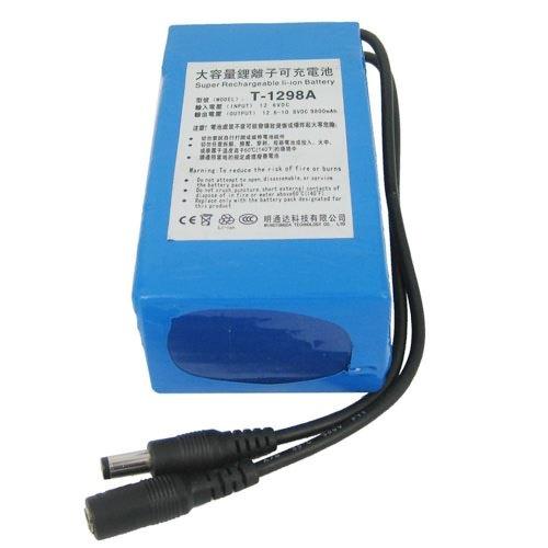 все цены на  DC 12V 9800mAh Capacity Super Polymer Rechargeable li-ion Battery for CCTV Camera / Transmitter  онлайн