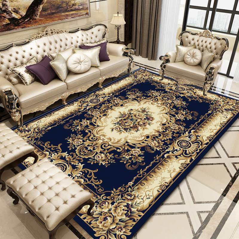 European Court Style Printed Carpet Mats Big Size High Quality Home Mat Modern Living Room Carpet Thicken Parlor Rugs Art Decor