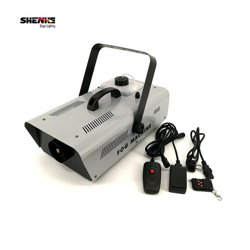 1500 smoke machine Professional stage dj equipment Remote or wire control fog machine Fast Shipping цена 2017