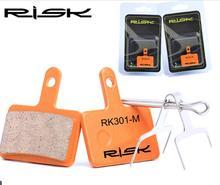цена на More Usefull Full-metal Bicycle Disc Brake Pads for Shimano XT XTR M8000/Sram/Avid/Magura/Giant/Formula/Tektro