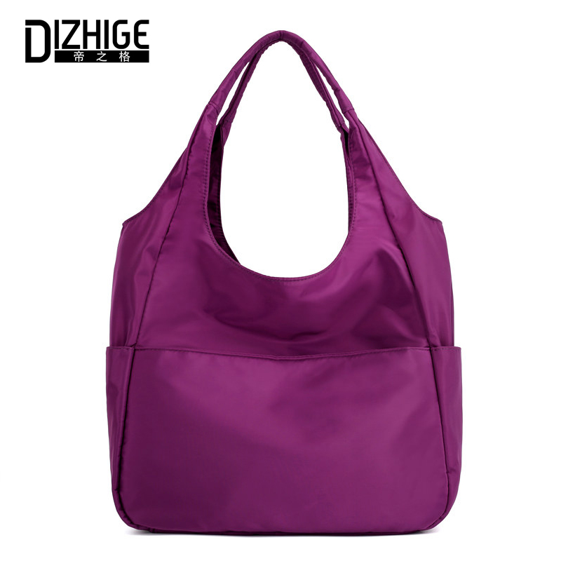 DIZHIGE Luxury Handbag Shoulder-Bag Large-Capacity Waterproof Women Brand Tote Fashion