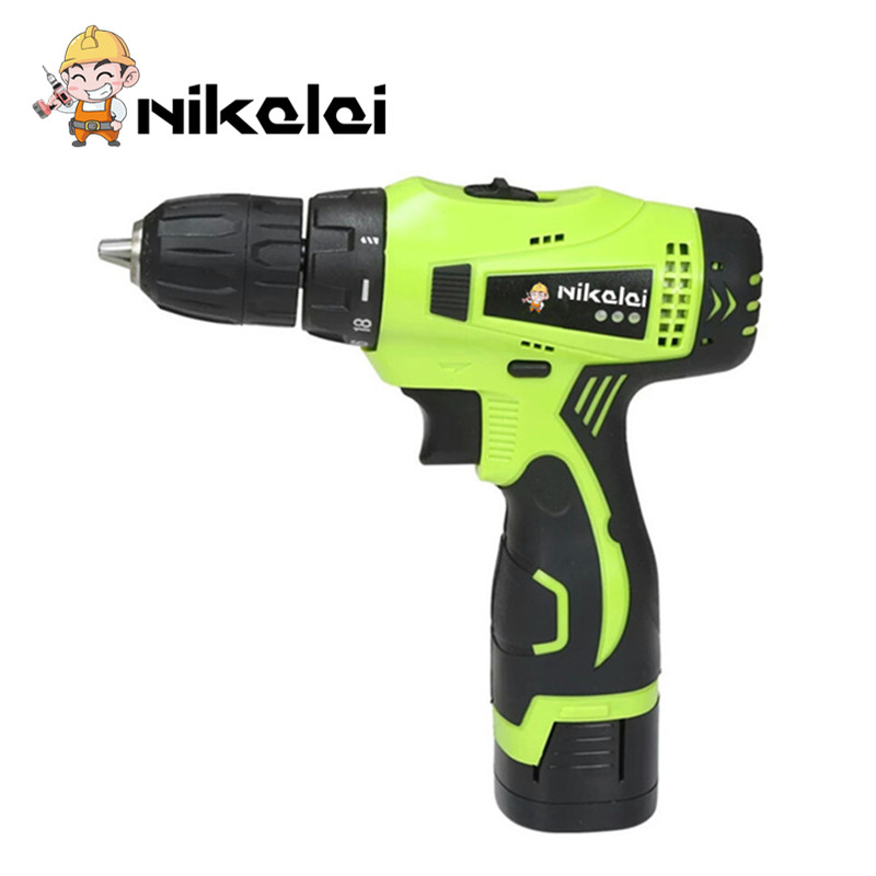 16 8V two speed home diy Rechargeable lithium battery electric screwdriver cordless screwdriver hand electric drill