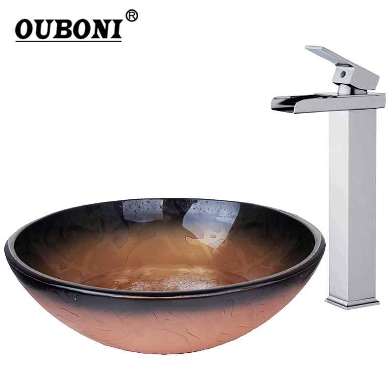 Buy black bathroom basin sink water combo - Discount bathroom vanity and sink combo ...