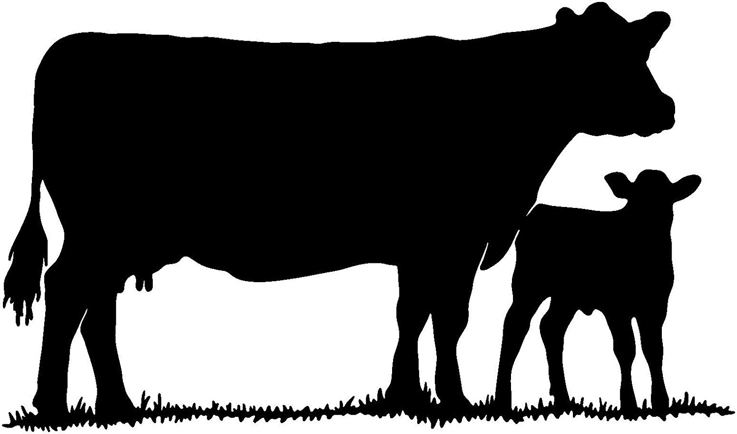 Download For Cattle Decal Livestock Ranch Cow Bull Window Stickers ...